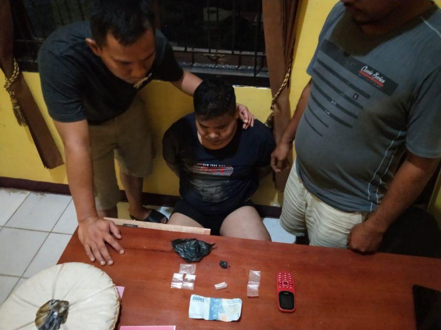 Belum Seminggu, Polisi Tangkap Lagi 2 Pengedar Sabu di Kamang Baru Sijunjung