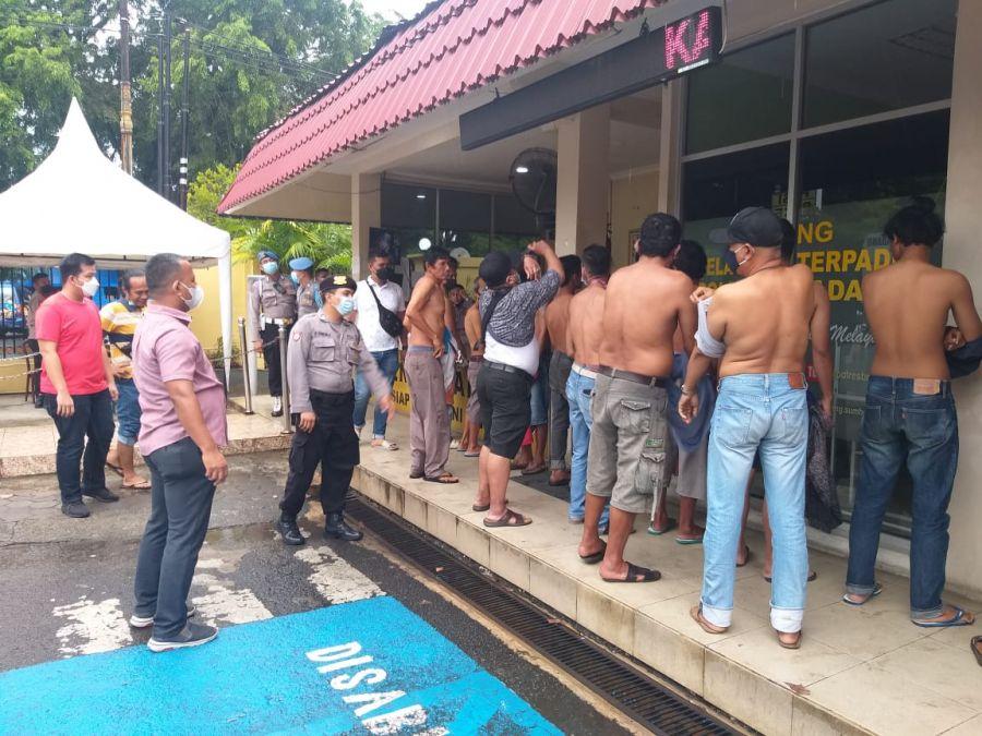 Berantas Aksi Preman, Polisi Amankan 17 Orang yang Melakukan Pungli