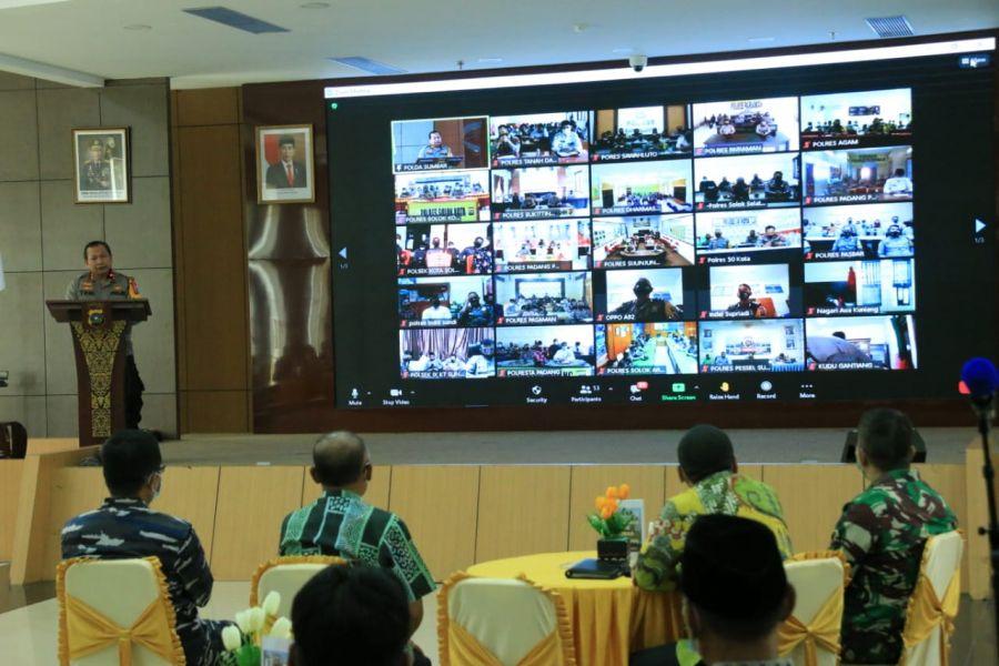 Bersama Forkopimda, Polda Sumbar Gelar Dialog Interaktif Program Nagari Tageh