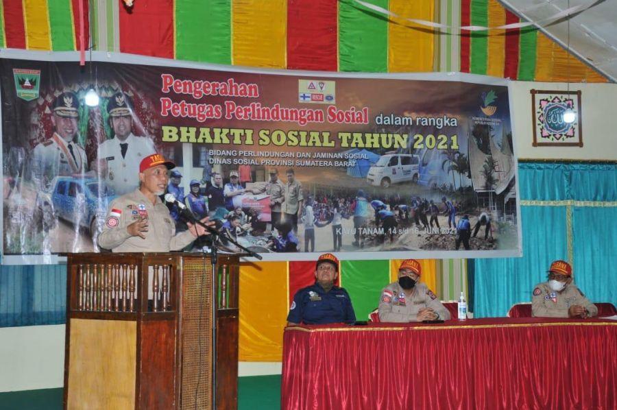 Bhakti Sosial Tagana Sumbar 2021 Buka Akses Ke Lokasi Wisata