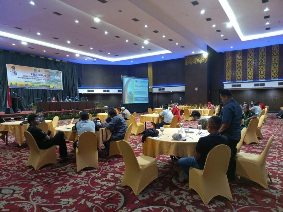 BPBD 50 Kota Kirim Perwakilan Organisasi Penggiat Kebencanaan Ikuti Pelatihan Relawan