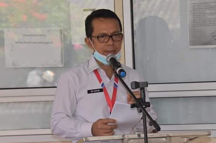 Di Padang Layanan Online Disdukcapil Sudah Aktif Kembali