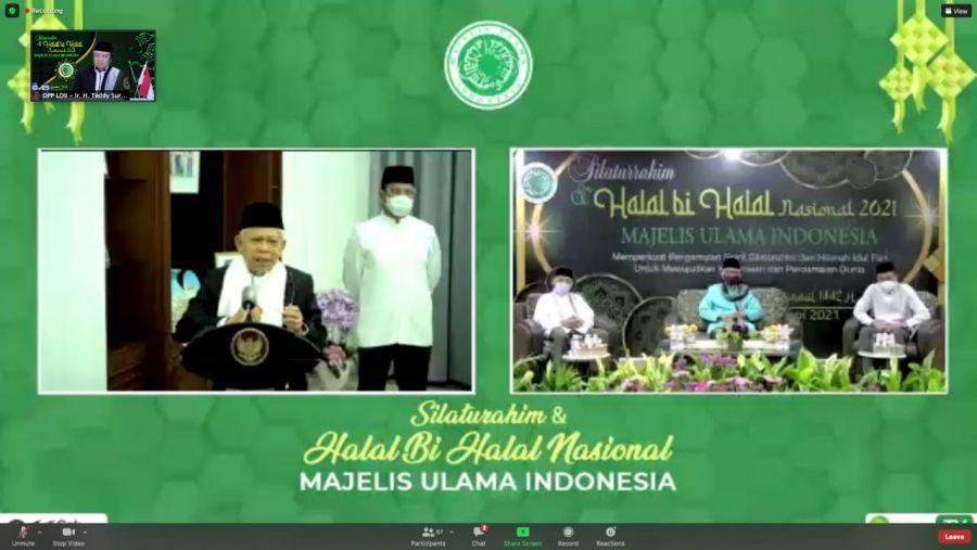 Dibuka Wapres RI, LDII Hadiri Halal Bi Halal Yang Digelar MUI dengan Ormas Islam