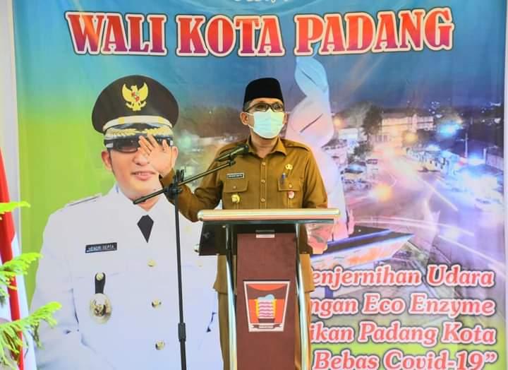 Dilaunching Wali Kota Hendri Septa, Bank Eco Enzyme Resmi Hadir di Kota Padang