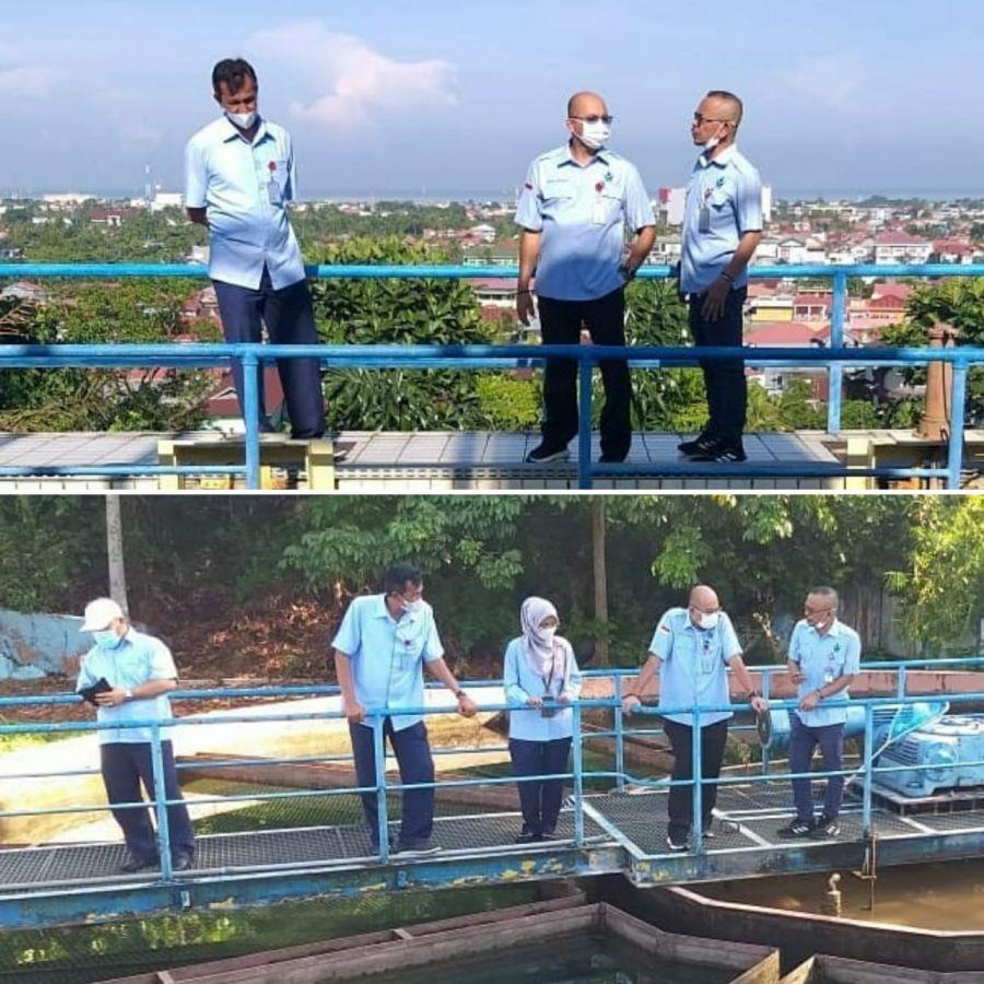 Dirut Perumda AM Padang Kunjungi Instalasi Pengolahan, Pastikan Ketersediaan Air Masyarakat