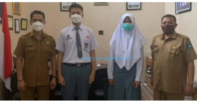 Dua Pelajar SMAN 1 Sawahlunto Jadi Anggota Paskibraka Sumbar 2021, Salah Satunya Putri Ketua Senkom