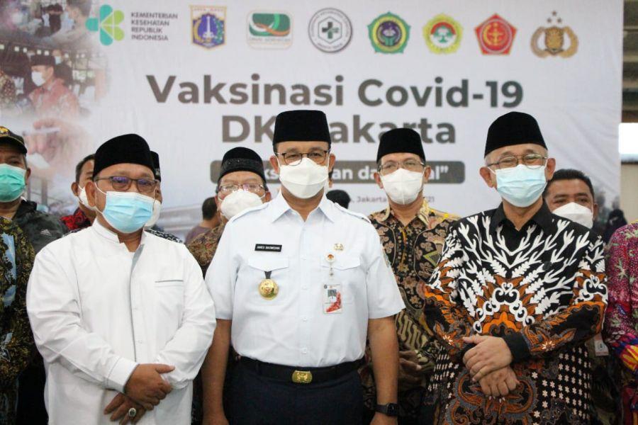Gubernur Anies: Sejarah Mencatat Ponpes Minhaajurrosyidin LDII Jadi Lokasi Melawan Wabah Covid-19