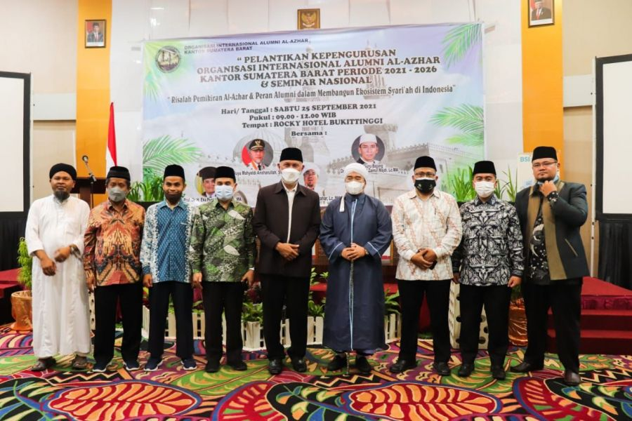 Gubernur Mahyeldi: Alumni Al-Azhar dari Sumbar Perlu Berperan Memperkuat ABS SBK