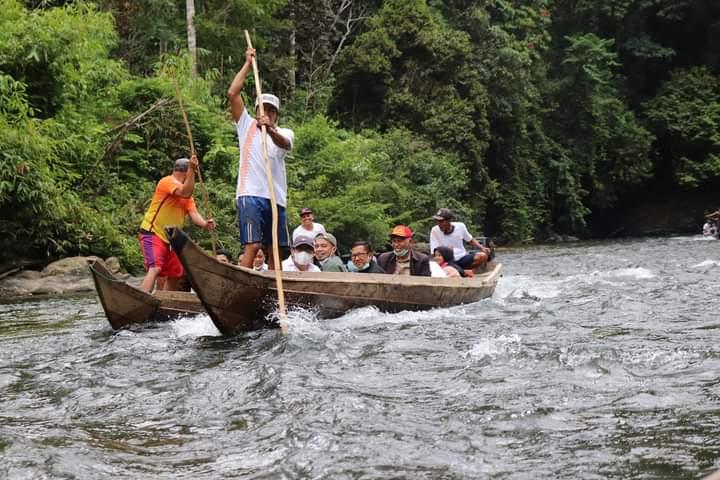 Gubernur Mahyeldi Bersampan Temui Masyarakat Jorong V Partemuan Nagari Muaro Sungai Lolo