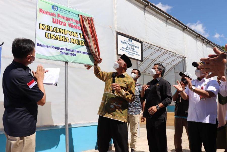 Gubernur Mahyeldi Dorong Pertanian Modern Manfaatkan Teknologi IT Yang Disediakan BMKG