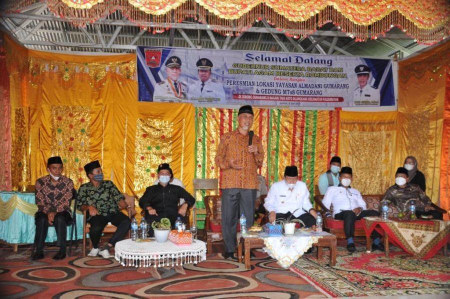 Mahyeldi: Pendidikan di Surau dan lapau merupakan Kearifan Lokal di Nagari Sumbar
