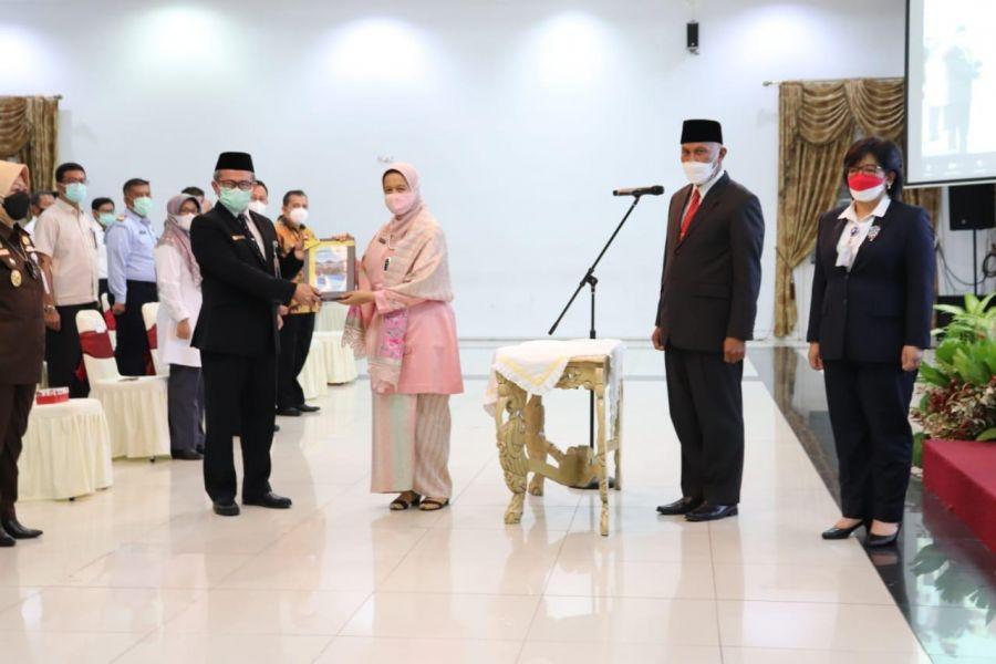 Gubernur Mahyeldi Kukuhkan Kepala BPKP Sumbar