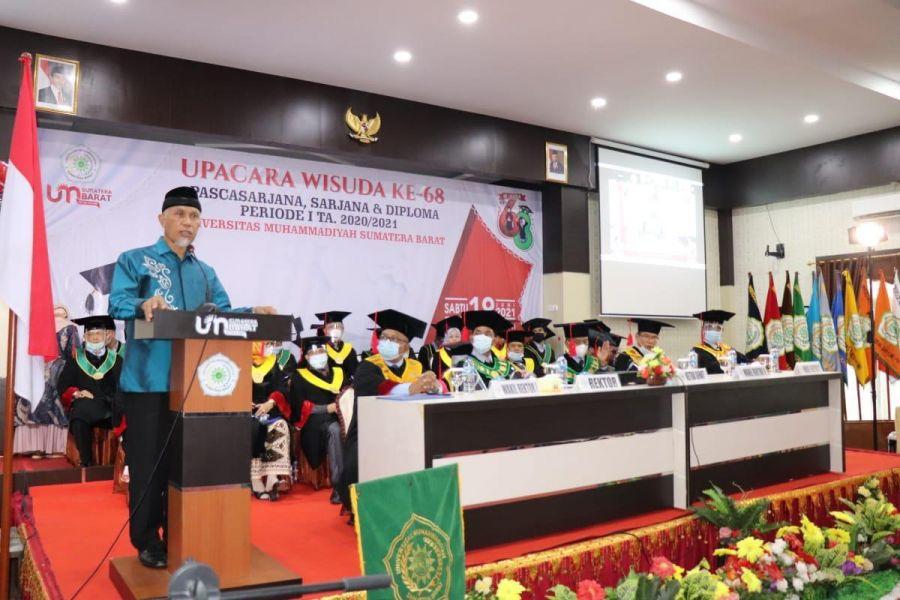 Gubernur Mahyeldi: Pemuda adalah Agen Perubahan Hadapi Pandemi Covid-19