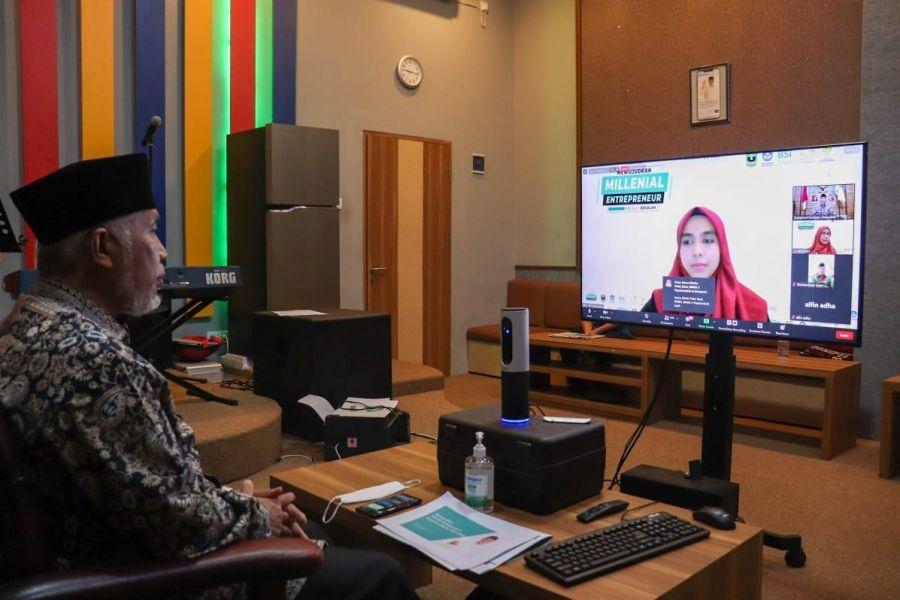Gubernur Mahyeldi: Pendidikan Kewirausahaan di Sekolah Maksimalkan Bonus Demografi