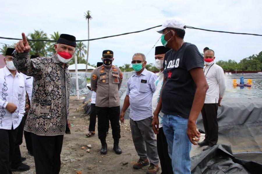 Gubernur Mahyeldi: Prospek Tambak Udang Harus Diiringi dengan Kepedulian Lingkungan