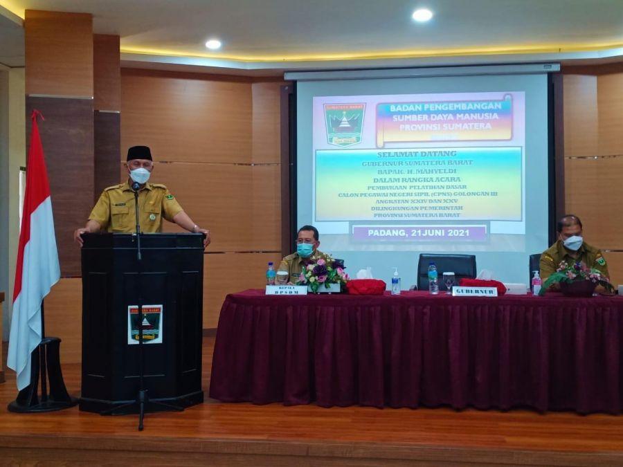 Gubernur Mahyeldi: Selain Ijazah, PNS Juga Harus Memiliki Keterampilan
