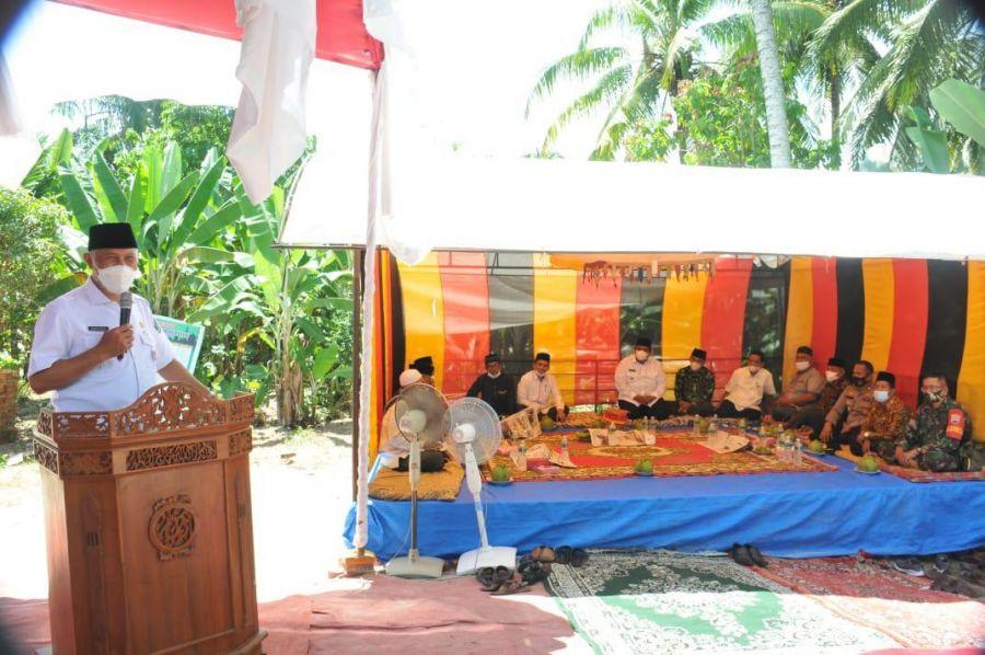 Gubernur Mahyeldi: Tokoh Minang Ditempa Sejak Dini di Nagari