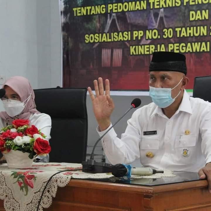 Gubernur Sumbar: Inspektorat Ibarat Dokter Bisa Mendekteksi Penyakit Sedari Dini