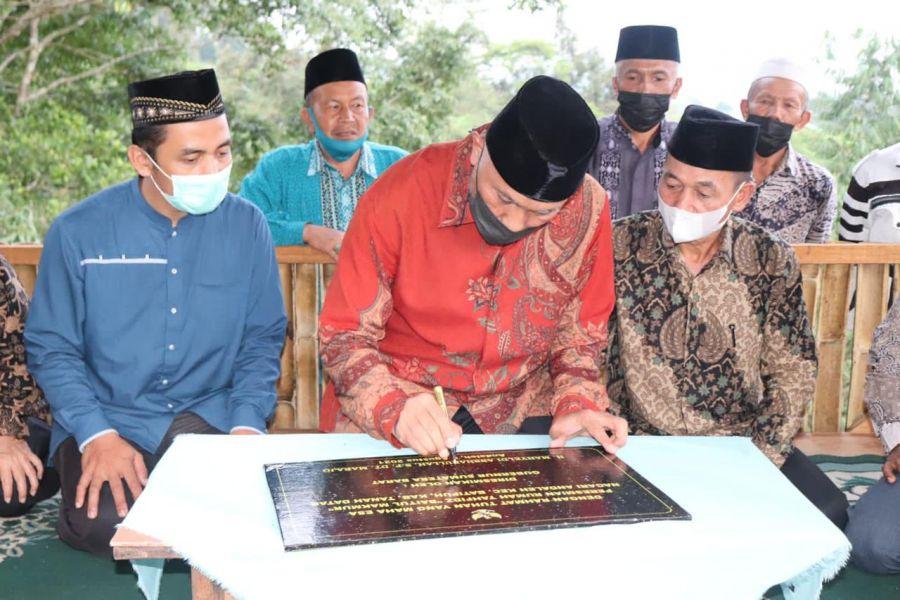 Gubernur Sumbar Resmikan Rumah Tahfizd Baitul Makmur Nagari Andaleh di Tanah Datar