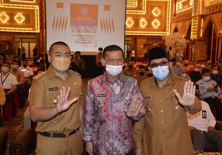 Hadiri Peringatan Puncak HANI 2021, Hendri Septa: Kita Terus Gencarkan P4GN!