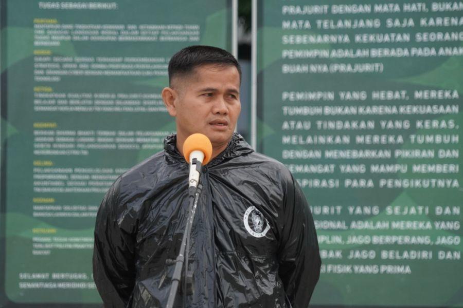 Kapenrem 032/Wbr Himbau Prajurit dan PNS agar Tidak Salah Langkah Dalam Bermedsos