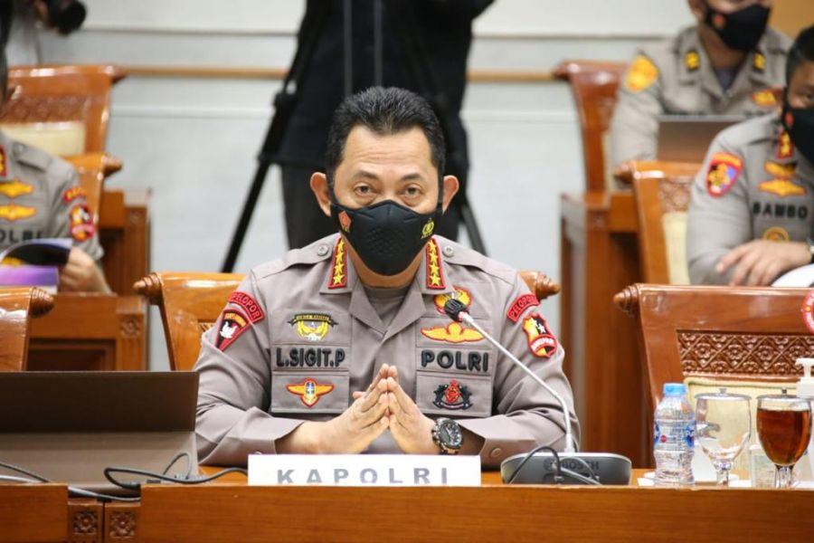 Kapolri Sebut 24.878 Tersangka Ditangkap Terkait Narkoba Sepanjang Januari-Juni 2021