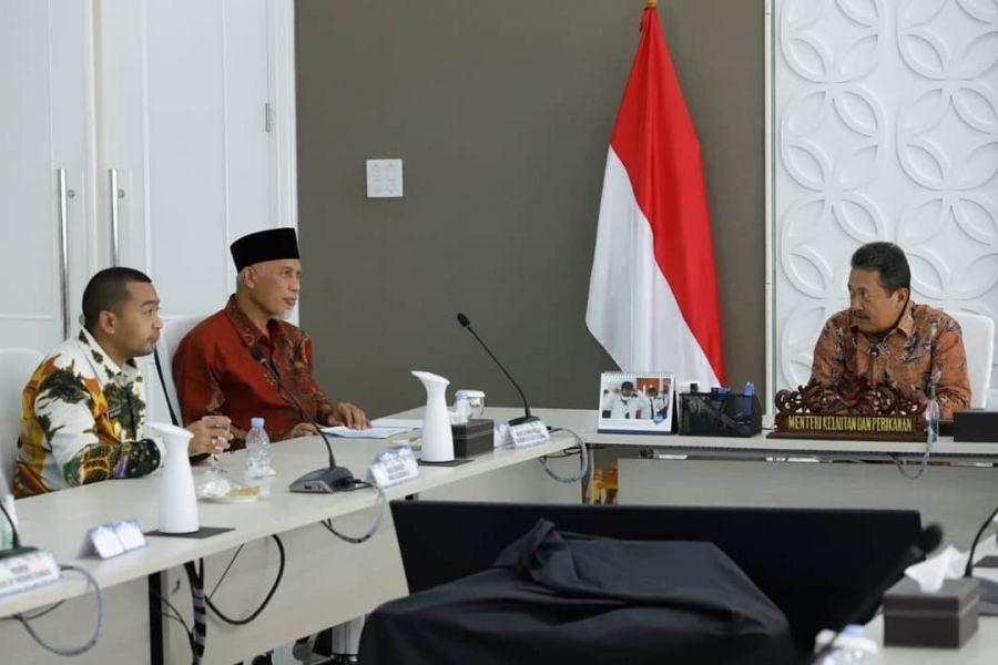 Kementerian Kelautan dan Perikanan (KKP) RI Ajak dan Dorong Pemprov Sumbar Kembangkan Budidaya Udang