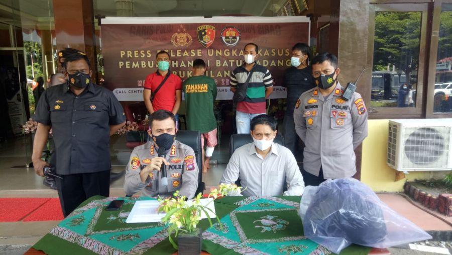 Kurang Dari 24 Jam, Polresta Padang Berhasil Ungkap Pembunuhan di Batu Gadang Lubuk Kilangan