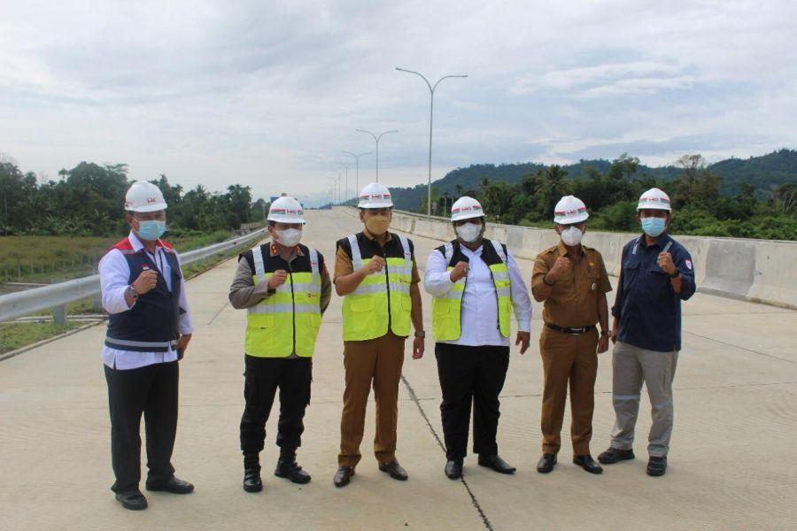 Masalah Pembebasan Lahan Tol Padang-Sicincin Mulai Terurai, Ditargetkan 2022 Selesai Dikerjakan