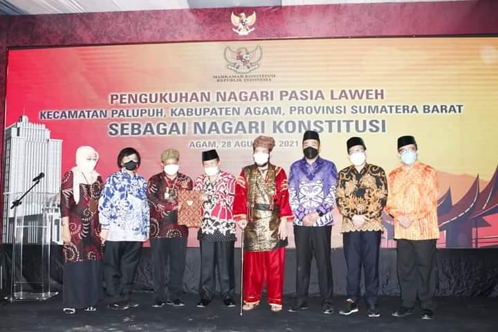 MK : Nagari Konstitusi adalah Ikhtiar untuk Menegakkan Konsitusi dan Ideologi Negara