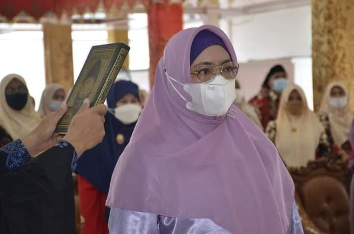 Ny. Genny Hendri Septa Jabat Ketua Yayasan Pertiwi Kota Padang