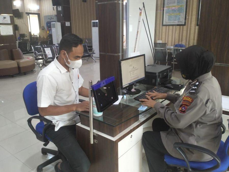 Polres Payakumbuh Publikasikan Hasil Survei Mandiri Kepuasan Masyarakat Online Triwulan I Tahun 2021