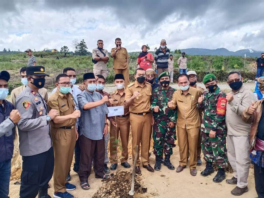 Program Perhutanan Sosial, Wagub Audy Kunjungi Kopi Solok Radjo di Ekowisata Bukit Tabuah