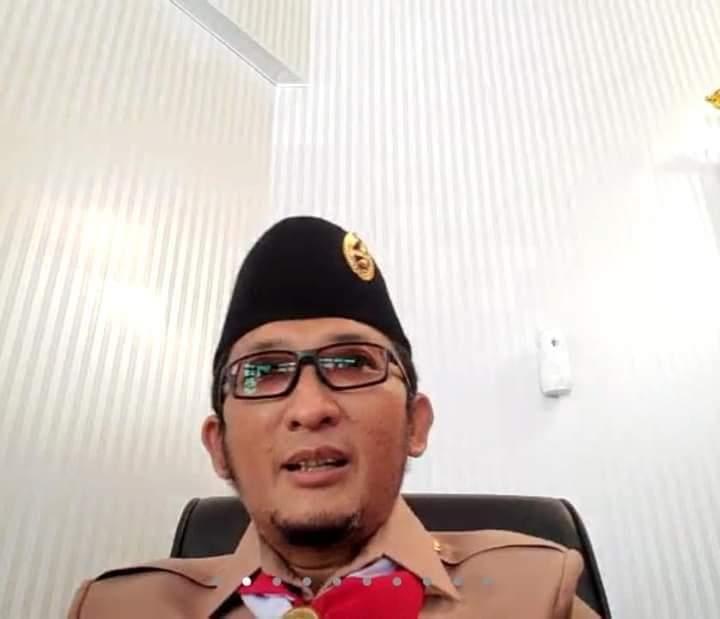 Reaktor 2021 Session III, Wako Hendri Septa Sampaikan Kiprah Pramuka Kota Padang di Tengah Pandemi