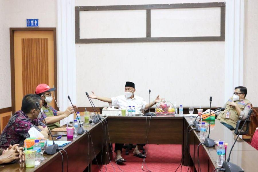Satgas Penanganan COVID-19 Nasional Wacanakan Tempat Isolasi Terapung di Padang