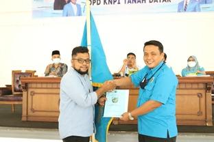 Selamat! Bayu Terpilih Menjadi Ketua KNPI Tanah Datar 2021-2024