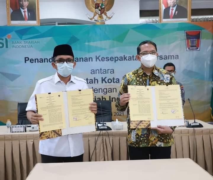 Tingkatkan Kinerja Pengelolaan Keuangan Daerah, Pemko Padang - BSI Tanda Tangani Nota Kesepahaman