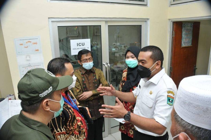 Wagub Audy Joinaldi Apresiasi Kinerja RSUD Pasbar Dalam Penanganan Covid-19