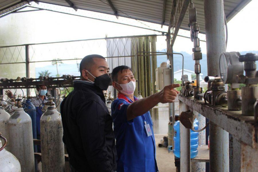 Wagub Audy Joinaldy Pastikan Stok Oksigen di Sumbar Aman
