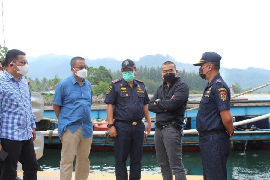 Wagub Audy Minta Penumpang Kapal dan Bus Divaksinasi