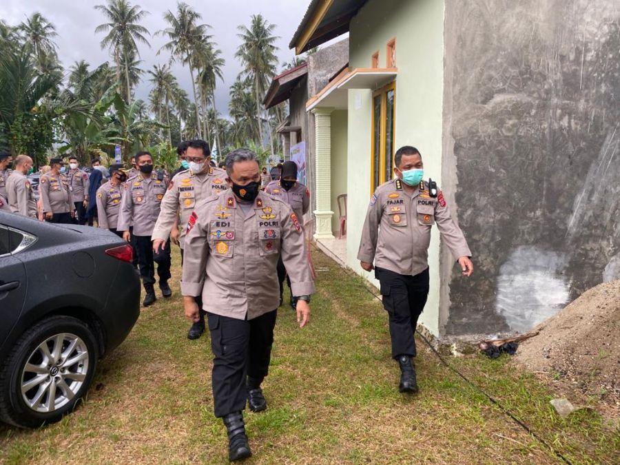 Wakapolda Sumbar Hadiri Launching Rumah untuk Polri dan PNS Polri oleh Kapolri