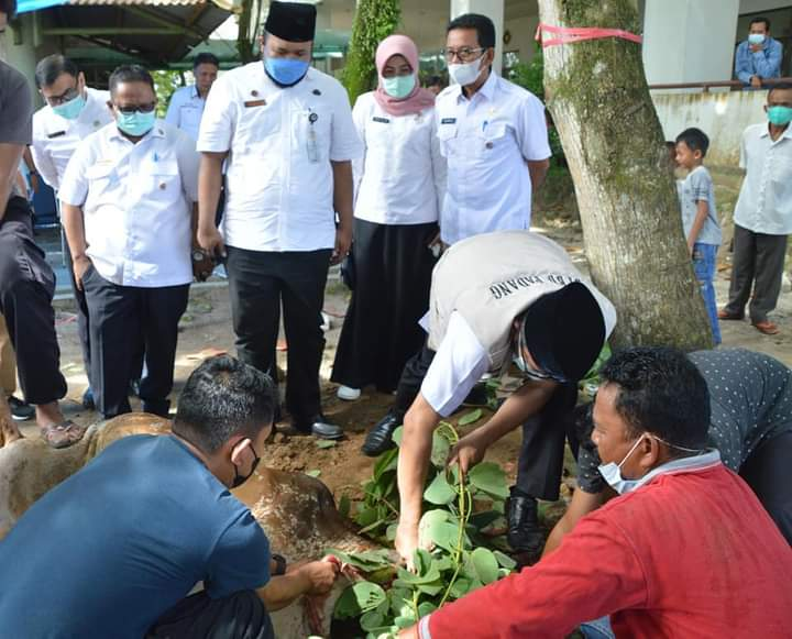 Wako Hendri Septa Apresiasi Semangat Berqurban ASN Pemko Padang