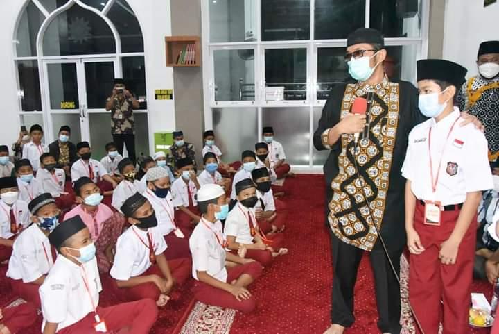 Wako Hendri Septa Lega, Pesantren Ramadhan 1442 H/2021 M Sukses Hingga Akhir
