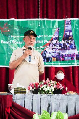 Bantu Korban Kebakaran Pasar Bawah, Gubernur Puji Kepedulian Indojalito pada Kampung Halaman