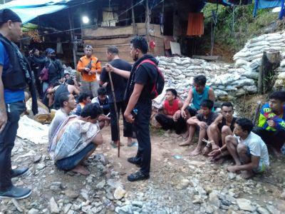 Berantas Ilegal Mining, 21 Orang Diamankan Polres Solok Selatan