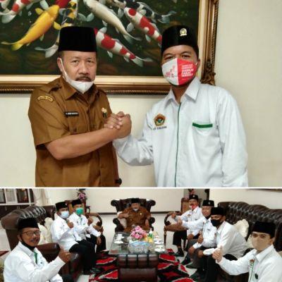 Bupati Andri Warman Terima Kunjungan Silaturahim LDII Kabupaten Agam