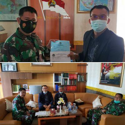 Dandim 0304 Agam Terima Kunjungan Audiensi DPD LDII Bukittinggi