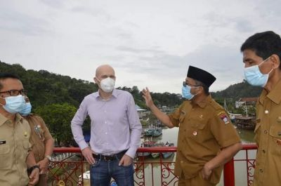 Datangkan Tenaga Ahli Jerman,  Pemko Padang Siap Percantik Sungai Batang Arau