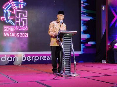 Festival Genre Sumbar 2021, Gubernur Mahyeldi: Genre Adalah Generasi Millenial Produktif