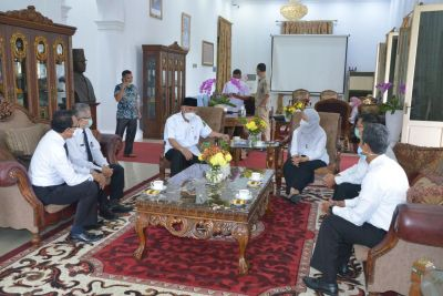 Gubernur Mahyeldi Minta BPKP Dorong Sinkronisasi Pembangunan Pertanian di Sumbar